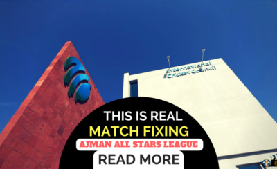 Match fixing in Ajman All Stars League