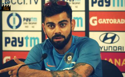 Virat Kohli Loses His Temper