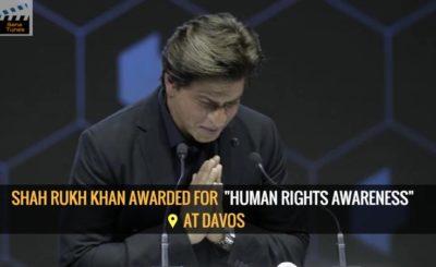 Shah Rukh Khan awarded