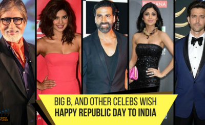 bollywood celebs wish republic day