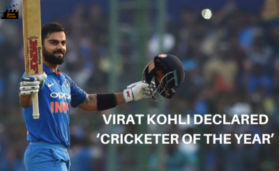 Cricketer of the year Virat Kohli