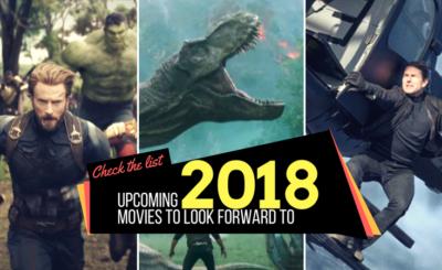 Top 3 Blockbuster film trailers 2018