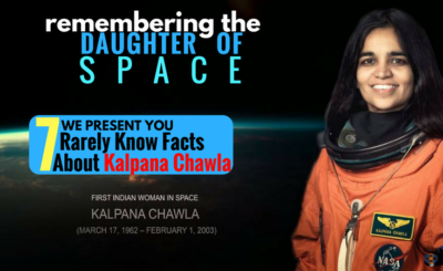 INTERESTING FACTS ABOUT KALPANA CHAWLA
