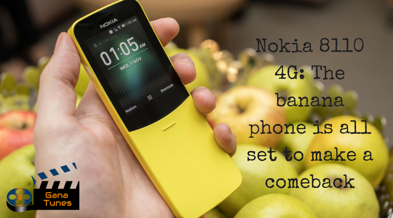 Nokia 8110 4G: The banana phone