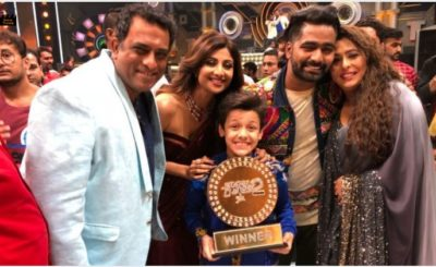 Bishal Sharma crowned the winner of Super Dancer 2