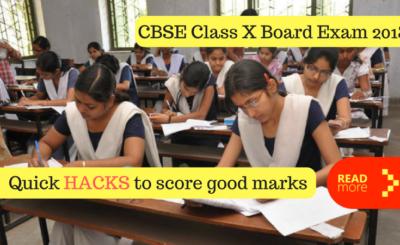 CBSE Class X Board Exam 2018