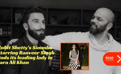 simmba found its girl sara ali khan