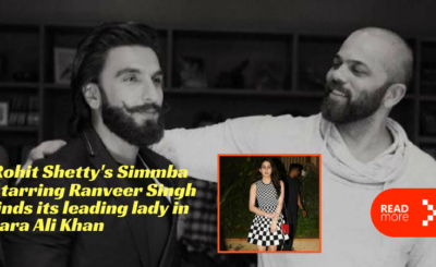 simmba found its girl sara ali khan