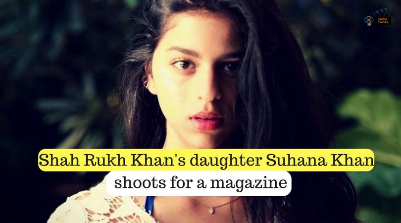 suhana khan shoots for magazine