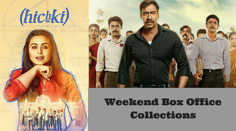 Rani mukerji gives hichki to ajay devgn 39 s raid box office collections - Box office week end france ...