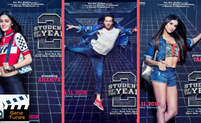 Student Of The Year Post Out; Watch Tiger Shroff, Tara Sutaria and Ananya Panday First Look