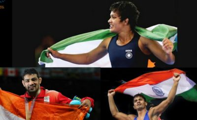 Dangal fame Babita Phogat Grabs Silver Sushil Kumar and Rahul Aware Makes The Nation Proud With Gold