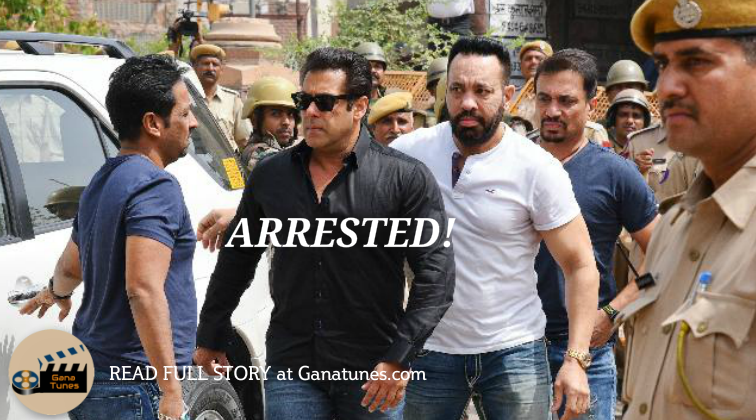 Salman Khan Arrested, Sentenced To 5 Years Imprisonment