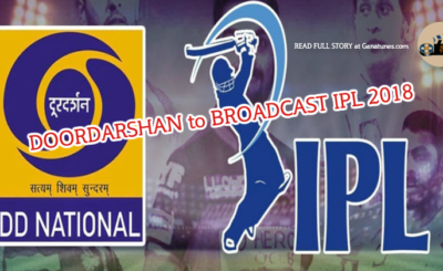 VIVO IPL 2018 To Be Broadcasted on Doordarshan