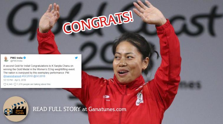 PM Modi, Sachin Congratulate Sanjita Chanu As She Strikes GOLD in Commonwealth Games 2018