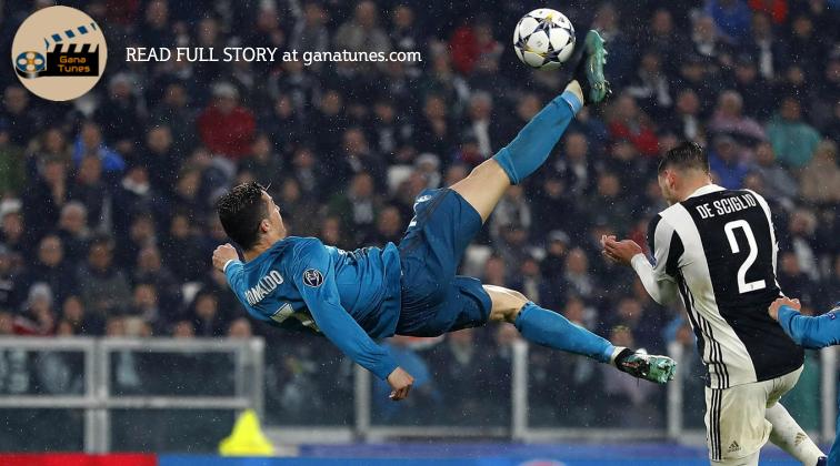 Cristiano Ronaldo's jaw-dropping kick