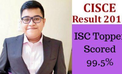 ISC 2018 Topper Abhijnan Chakraborty