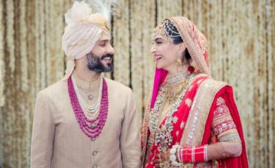 Sonam Kapoor wedding pictures