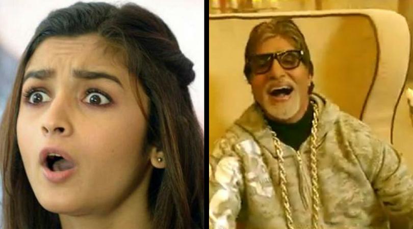 """Alia Just Got """"Grammar-Ed"""" By Megastar Amitabh Bachchan"""