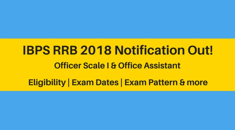 IBPS RRB 2018 Notification