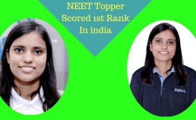 Kalpana Kumari Tops NEET