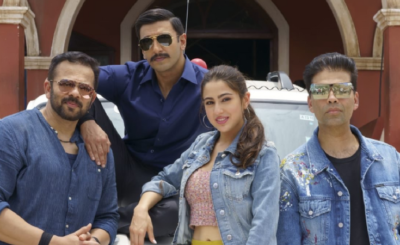 WATCH: Simmba Is All Set To Roar As Magnetic Ranveer And Gorgeous Sara Kick Start The Madness On Sets
