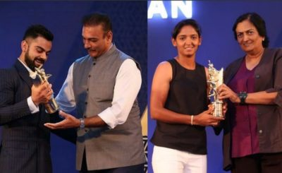Virat Kohli Was The Star Attraction At The BCCI Annual Awards Function