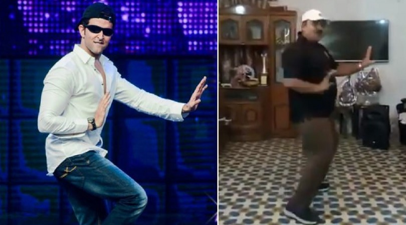 Dancing Uncle Is Back With His Viral Grooves,