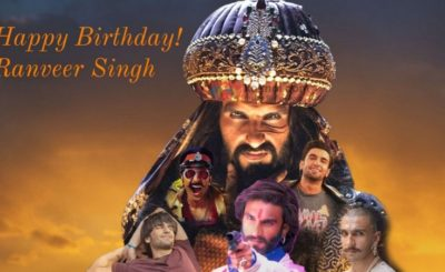 Happy B'day Ranveer Singh