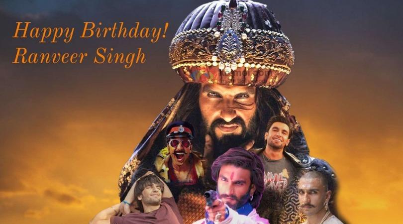 Happy B'day Ranveer Singh