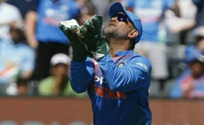 MS Dhoni takes 300 catches