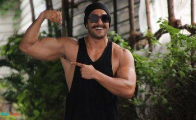 Ranveer Singh Simmba look