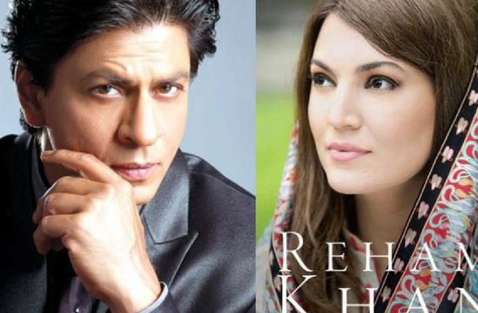 Reham Khan praises Shah Rukh Khan