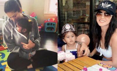 Sunny Leone Celebrates Daughter Nisha's 'Gotcha' Anniversary With Husband Daniel, Shares This Adorable Pic