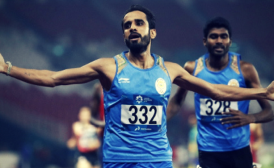 Manjit Singh Displays Unbeatable Performance In 800m Race, Bags 9th Gold Medal For India In Asian Games