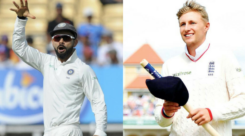 Virat Kohli Gives An Epic Reply To Root's Mic Drop