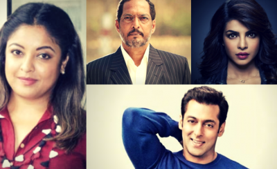 How Salman, Farhan, Priyanka And other B-town Celebs Reacted To Tanushree Dutta's Accusations On Nana Patekar.