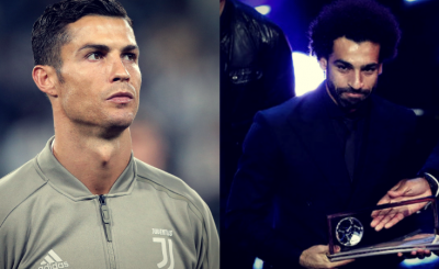Is Ronaldo Unhappy After Salah won the Puskas Award at the Best FIFA Football Awards 2018