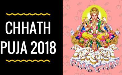 Chhath Puja 2018 dates
